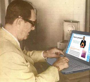 Perón escribiendo Ubuntu Peronista